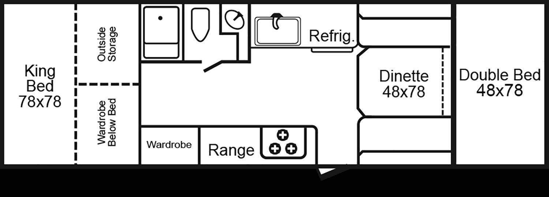 2922kb floorplan